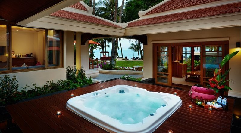 Two Bedroom Grand Deluxe Beachfront With Outdoor Jacuzzi - Santiburi Beach Resort & Spa