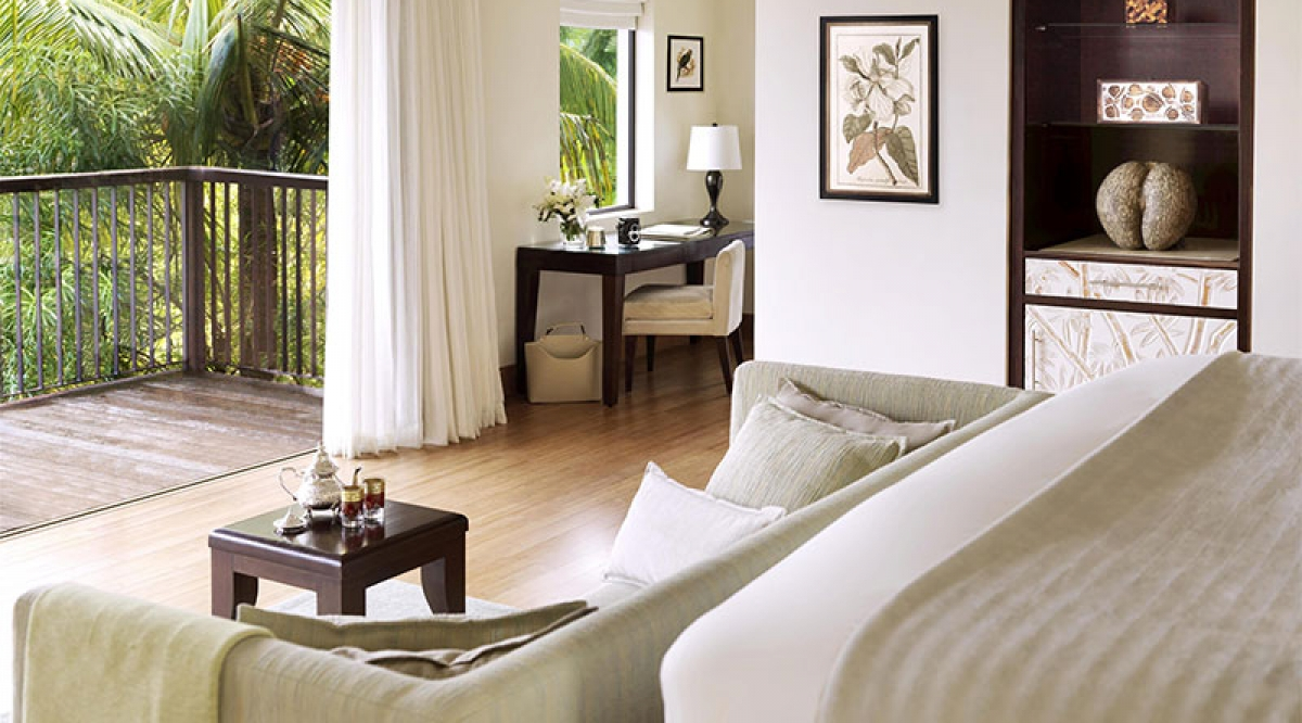 Garden View Pool Villa - Raffles Seychelles