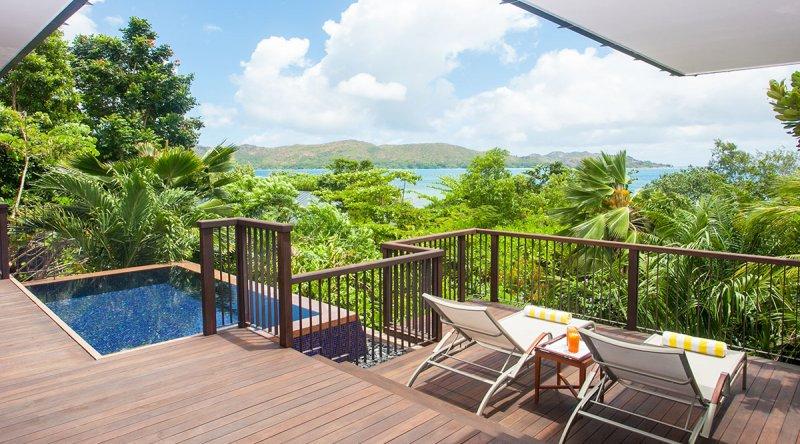 Partial Ocean View Pool Villa - Raffles Seychelles