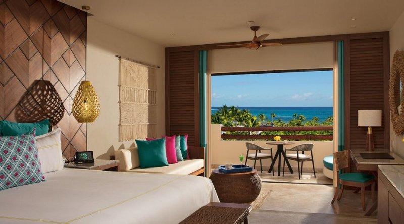 Junior Suite Ocean View - Secrets Maroma Beach